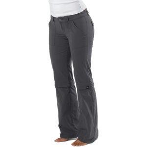 Prana Monarch Convertible Pants Grey Size 4